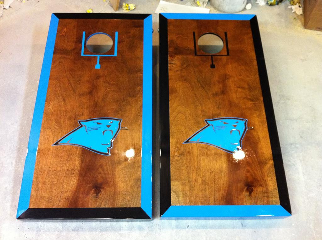 Customized Carolina Panthers Boards